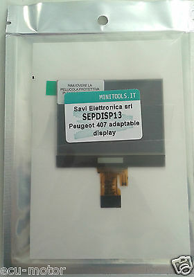 Display Lcd   Sepdisp13   Peugeot 407