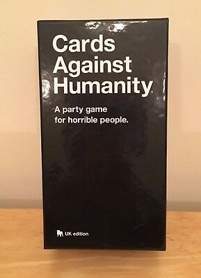Cards Against Humanity UK edition Playing Family Birthday Party 550 Card Game
