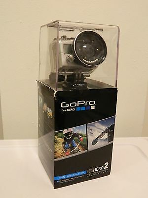 GoPro Hero 2 Outdoor Edition with original accesories + Scuba diving lens kit