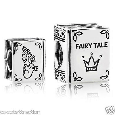 New Authentic Pandora Charm 791109 Once Upon a Time Fairy Tale Box Included