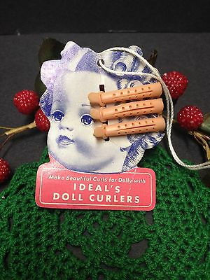 * Original Ideal Curler TAG : For Shirley Temple,Toni, Saucy Walker Dolls Etc.*