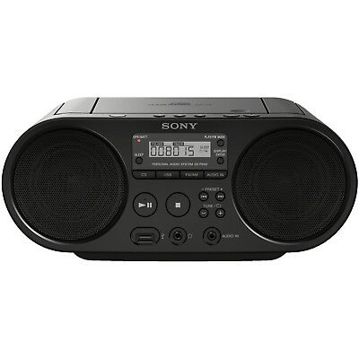 SONY ZS-PS50B CD Player (Schwarz)
