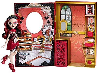 Ever After High Lizzie Hearts Spring Unsprung Book Playset New