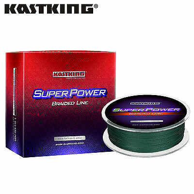 Moss Green 300M 40LB 0.30mm SuperPower Dyneema Fiber Carp Braid Fishing Line
