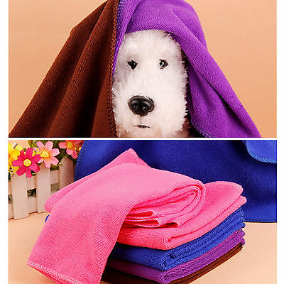 Pop New Soft Warm Towel Pet Puppy Dog Cat Fleece Blanket Small Size Mat Sports