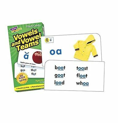 Vowels and Vowel Teams Skill Drill Flash Cards Dolch Fry Lists Speech Therapy