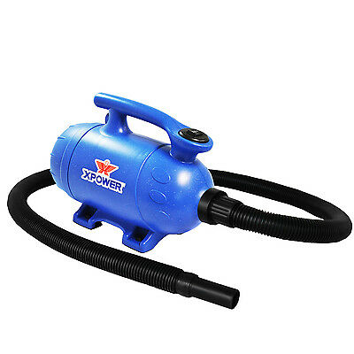 XPOWER B-3 Mobile Groom 2-in-1 Dog Grooming Blaster Pet Force Dryer and Vacuum