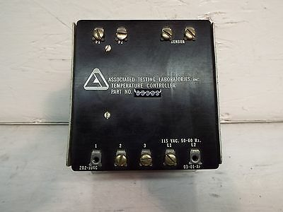 Associated Testing Laboratories 85339 Temperature Controller ,50/60/115 V
