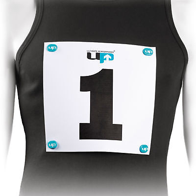 Ultimate Performance Mens Womens Running Race Number Magnets Fasteners