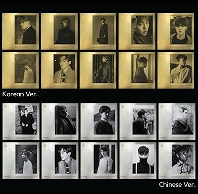 EXO EXODUS 2nd Album KOREAN /CHINESE Ver. Select MEMBER:CD+Photobook+Gifts love