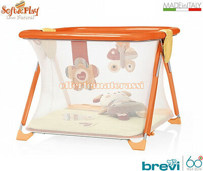 Box bimbi Brevi Soft & Play Love Natural bordi imbottiti antimorso