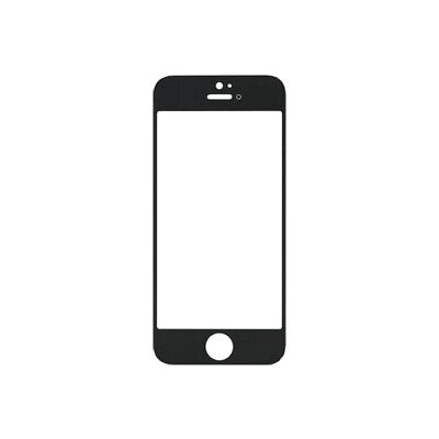 Black Front Glass Screen Lens Replacement for iPhone 5 5C 5S SE