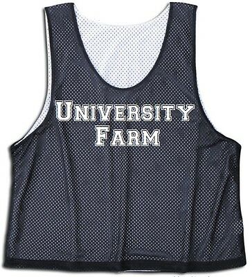 Black Lacrosse Pinnie - L/XL