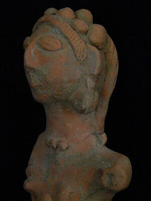 Ancient Teracotta Hollow Mother Goddess Bust 1000 BC  #S236