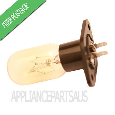 Microwave Oven Globe Lamp Bulb Straight Terminals 240V 20W T170 Suit Many Brands