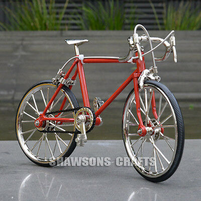Diecast Model Collections 1:10 Racing Bike Bicycle Replica Toy