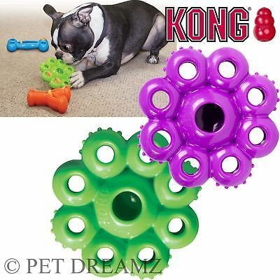 Kong Quest Star Pod Dog Puppy Treat Food Dispensing Chew Toy – 2 Sizes