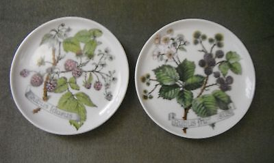 Set of 2 Kaiser coaster / butter pin dish made in West  Germany