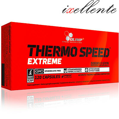 Olimp Thermo Speed Extreme Diet Pills Weight Loss Strong Fat Burner Slim