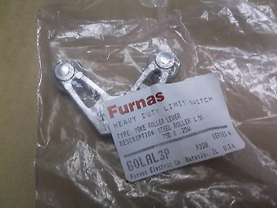 Furnas 60LAL3P heavy Duty Limit Switch Yoke Roller Lever Series A