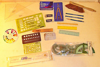 ASSORTED DRAFTING SUPPLIES