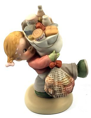 """Enesco Memories of Yesterday """"Must feed them over Christmas"""" 522406 New in Box"""