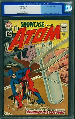 Showcase 36 CGC 8.0 - OW Pages - 3rd Atom
