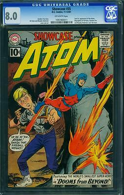 Showcase 35 Cgc 8.0 - Ow Pages - 2Nd Atom