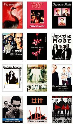 Depeche Mode Concert Posters Trading Card Set