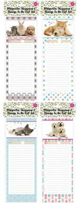 Fridge Magnetic Shopping & Things To Do List Set Includes Free Pencil 40Pages