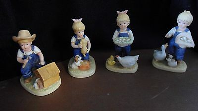 HOMCO set of 4 figurines 1503 and 1509