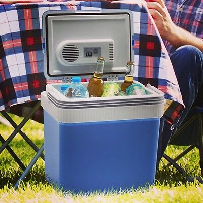 Sumex 12V 24L Car Picnic Camping Portable Travel Warmer & Cooler Box Mini Fridge