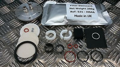 Discovery 3 Air Compressor Pump & Dryer Repair Kit Land Rover Hitachi LR023964