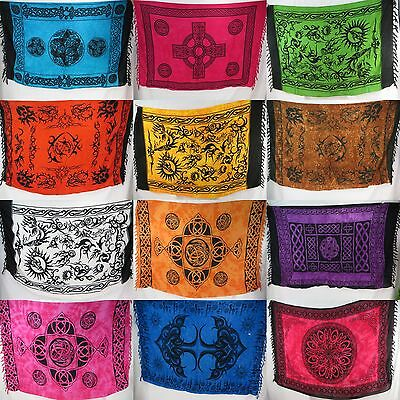 10pcs wholesale tribal Celtic sarongs Hippie Tapestry Wall Tapestry Bedcover...