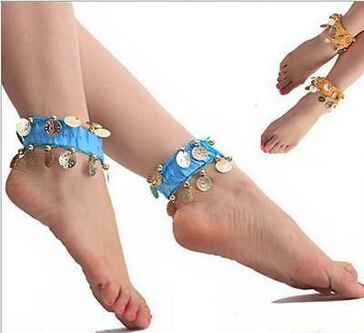 2015 Belly Dance Anklet Accessories  Foot Chain Indian Gypsy Ankle Chain TI AU