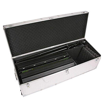 HWASTUDIO ® Alluminum flycase fly case Portable Quality Equipment with Wheels