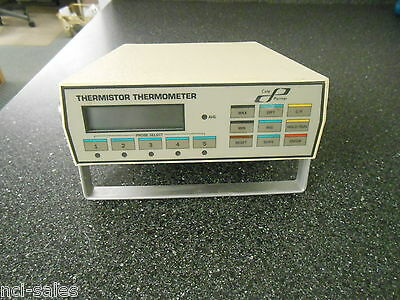 Cole Parmer 8502-16 5 Channel Scanning Thermistor Thermometer