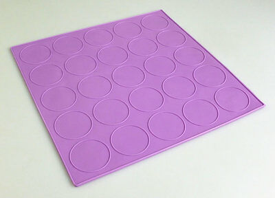 Lilac DOUBLE SIDED Macaron Cookie Silicone Baking Mat Mould Tray MAKES 2 SIZES