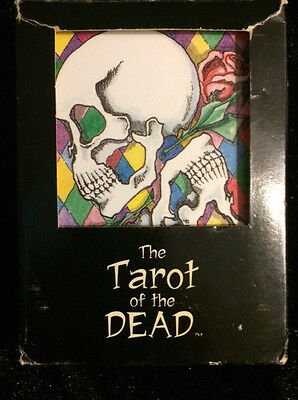 """Tarot Of The Dead"" Card Deck by Monica Knighton 1999"