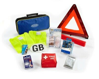 Travel Abroad Euro - Alcohol Breathalyser European Driving kit RCT1 Ring