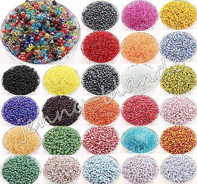 100Pcs Round Czech Glass Seed Loose Spacer Beads Jewelry Making DIY 4mm 29Colors