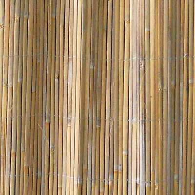Greenfingers Split Bamboo Screening Garden Wooden Fence Durable Panels 2 x 5m
