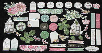 Kaisercraft 'OH SO LOVELY' Collectables Die Cut Shapes Flowers *NEW* KAISER