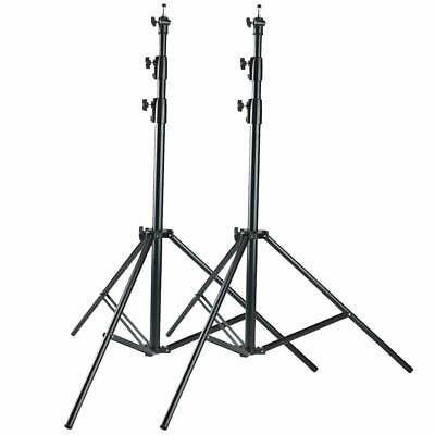 PAIR Heavy Duty Studio Light Stand 300CM 10ft AIR Cushioned top quality 3 METER