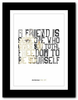Jim Morrison ❤ typography quote poster art limited edition print The Doors #8