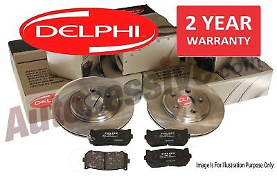 Ford Mondeo Mk4 07- Rear Delphi Brake Discs & Pads 1.6 1.8 2.0 2.2 2.3