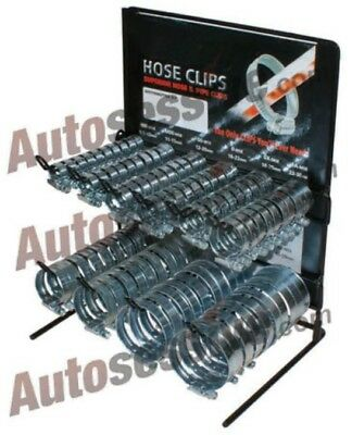 Hose Clip Stand 9.5-12 11-15 12-20 16-22 -18-25 22-30 100 Assorted Size Clips Me