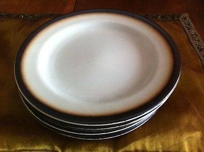 Gorgeous set of 6 Dessert Plates by NIANCLOLI made in Italy