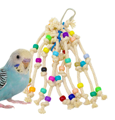 1534 STRINGY WINGY BIRD TOY parrot cage toys cages budgie parakeet parrotlet