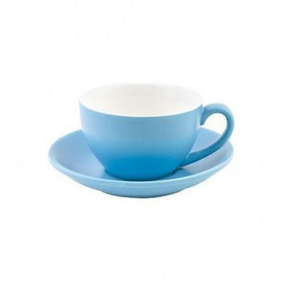 6x Cappuccino Cup & Saucer, 200mL, Blue, Bevande, Coffee / Cafe / Restaurant